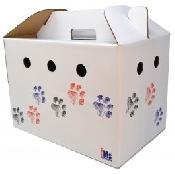 An image of Cardboard Pet Carrier