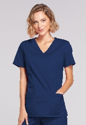 An image of Cherokee Core stretch 4728  Navy Ladies Large