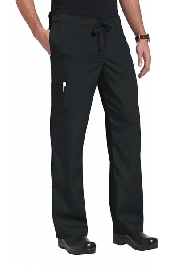 An image of Orange Standard Unisex Huntington Trousers Black S Regular