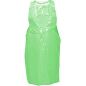 "An image of Flat Pack Green Apron Size :  27"" x 58""  50 micron ( 50)"
