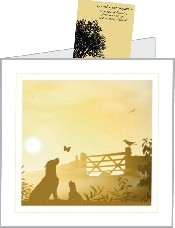An image of Dog Gateway Sympathy Cards With Seeds (25)