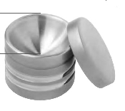 An image of Mixing bowl for bone material Ø 38 mm