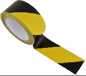 An image of PVC Social Distancing Tape MP ( 6 rolls) 66M Per Roll