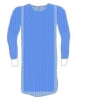 An image of Lightweight Reinforced Colic Gown Medium