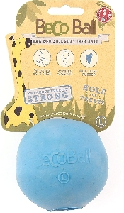 An image of Beco Treat Ball Large Blue (1)