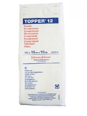 An image of Topper 12 Gauze Swabs 7.5 x 7.5cm (Pack of 100)