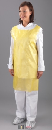 """An image of Apron on a Roll - 42"""" Yellow"""