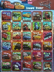 An image of Cars Reward Stickers
