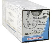 An image of Prolene 1 USP 100cm Thread CT 40mm 1/2 Circle Taper Point (12)