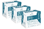 An image of Medihands Surgical Latex P/F Gloves - Small (50)