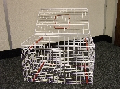 An image of Crush Cage 46x29x29cm *1