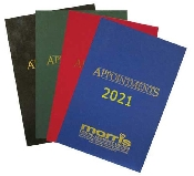 An image of Appointment Book Blue 2021