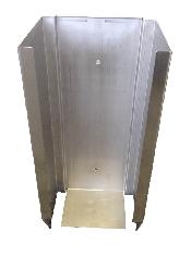 An image of Steel Scrub Brush Dispenser
