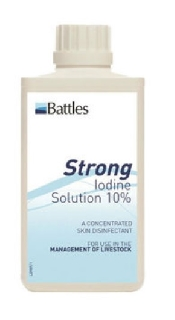 An image of 10% Iodine Solution