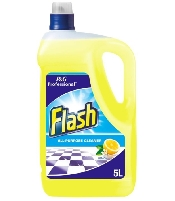 An image of Flash All Purpose Cleaner Lemon 5 Litre