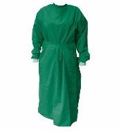 An image of Operating Gown - Long Sleeves/Cuffs