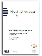 An image of Manuka Foam Air 10cm x 10cm
