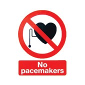 An image of Pacemaker Warning Sign