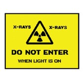 An image of Do Not Enter Warning Sign